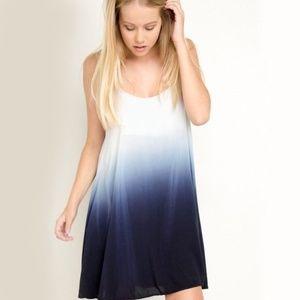 Brandy Melville Blue Ombre Lightweight Dress